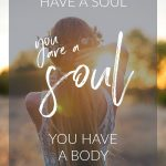 You are a beautiful soul!